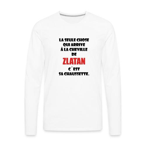 King Zlatan 2 Tee-shirts ML - T-shirt manches longues Premium Homme