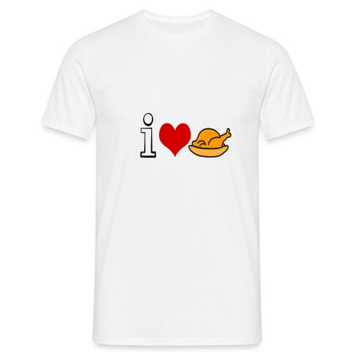 i love chicken shirt - Mannen T-shirt