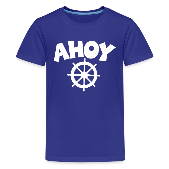 AHOY Wheel Teenager T-Shirt