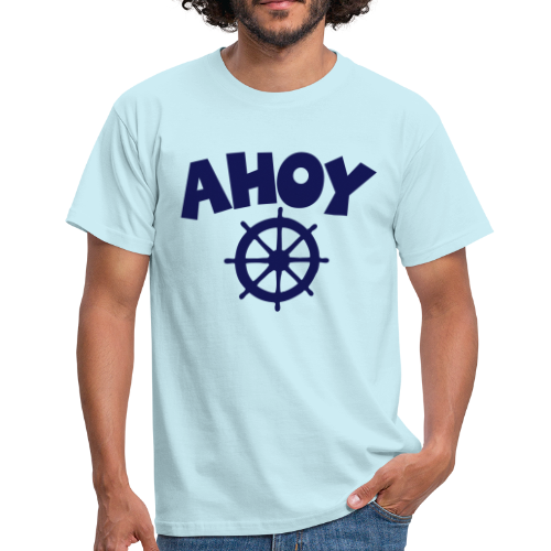 AHOY Wheel T-Shirt - Männer T-Shirt