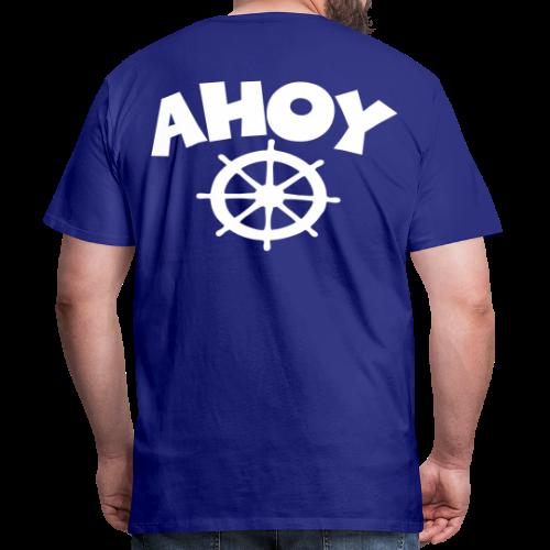 AHOY Wheel S-5XL T-Shirt - Männer Premium T-Shirt