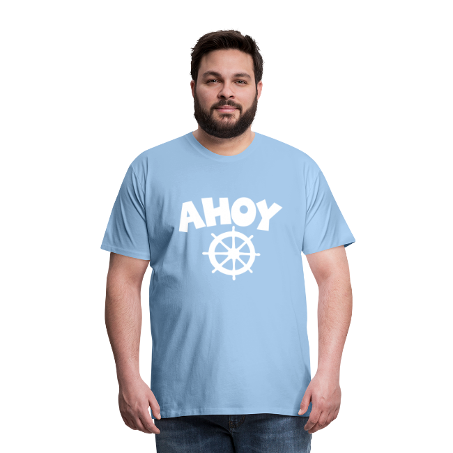 AHOY Wheel S-5XL T-Shirt
