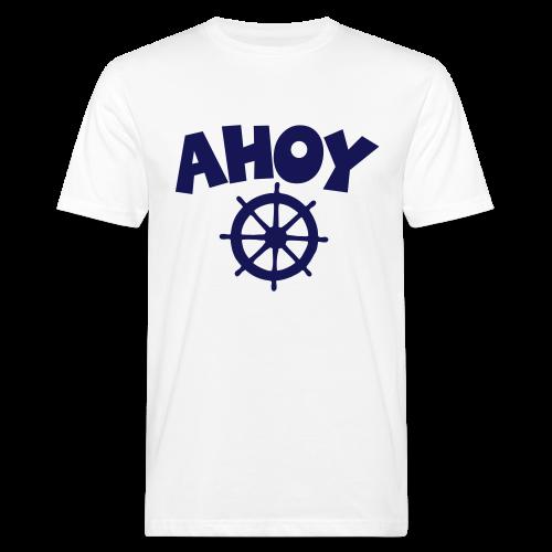 AHOY Wheel Bio T-Shirt - Männer Bio-T-Shirt
