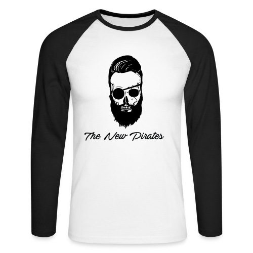 The New Pirates - T-shirt baseball manches longues Homme