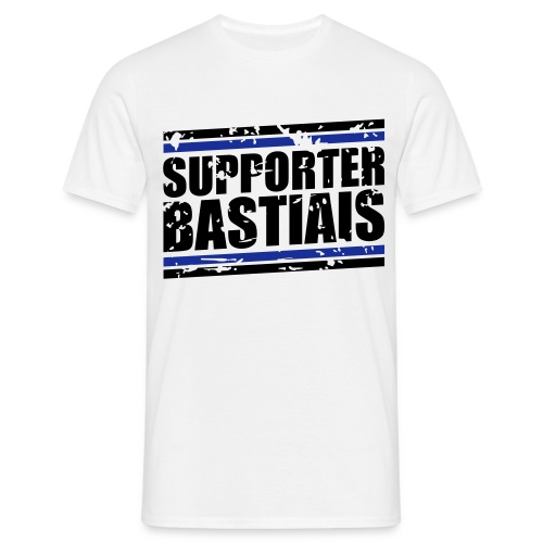 Tee shirt Homme Supporter Bastiais - T-shirt Homme