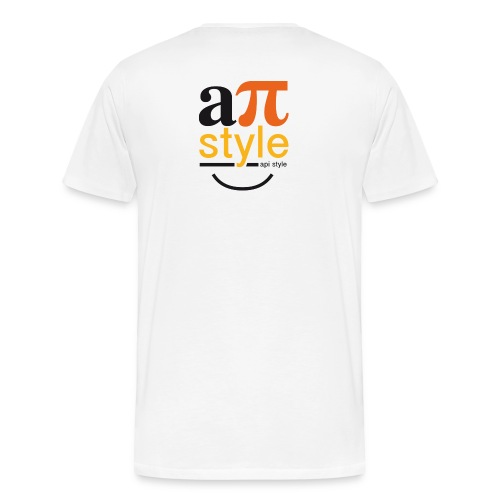 Tee homme R°V° Premium - Apistyle One Sourire - T-shirt Premium Homme