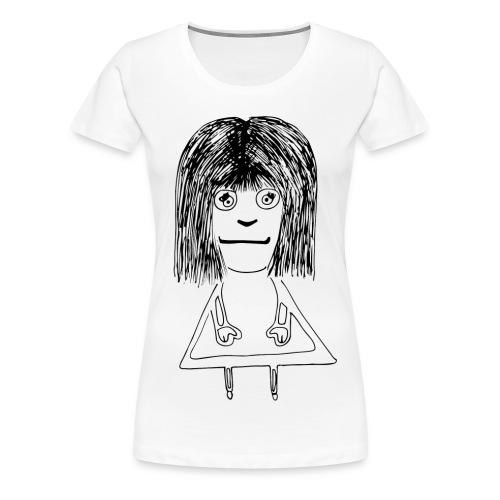 Girl - Koszulka damska Premium