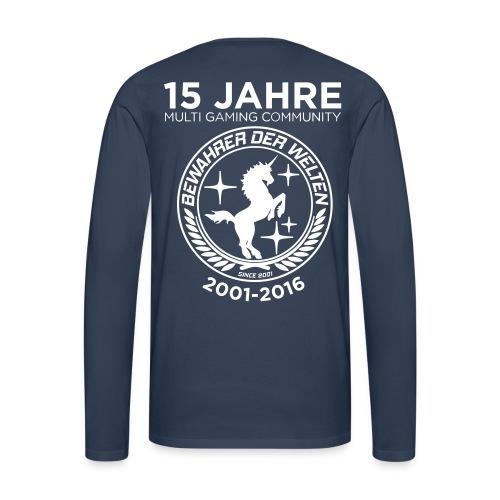 BdW-Jubiläums-Langarm-Shirt Männer - Männer Premium Langarmshirt