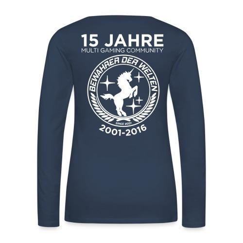 BdW-Jubiläums-Langarm-Shirt Frauen - Frauen Premium Langarmshirt