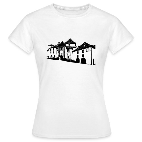 T-Shirt Schloss Clervaux Ladys - Frauen T-Shirt