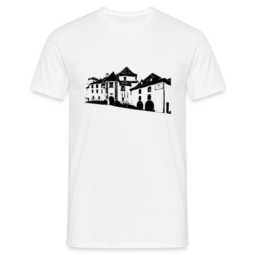 T-Shirt Schloss Clervaux - Männer T-Shirt