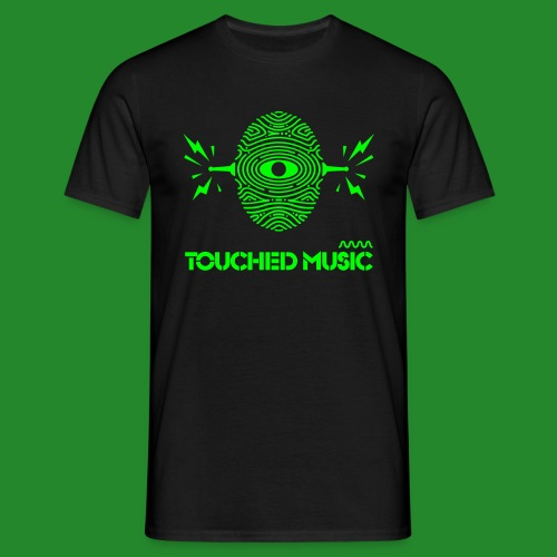 TOUCHED MUSIC LOGO [large - Men's T-Shirt