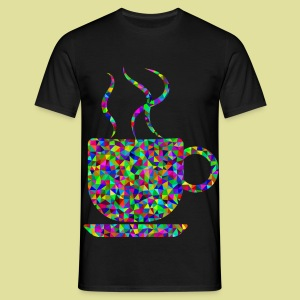 Coffeetime coffee-cupful color - Männer T-Shirt
