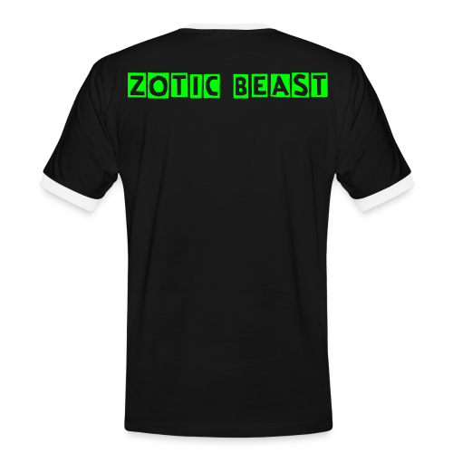 Limited Edition Zotic Beast T-Shirt - Men's Ringer Shirt