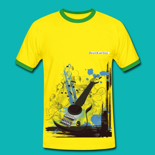 Bestkartel Collection - T-shirt contrasté Homme