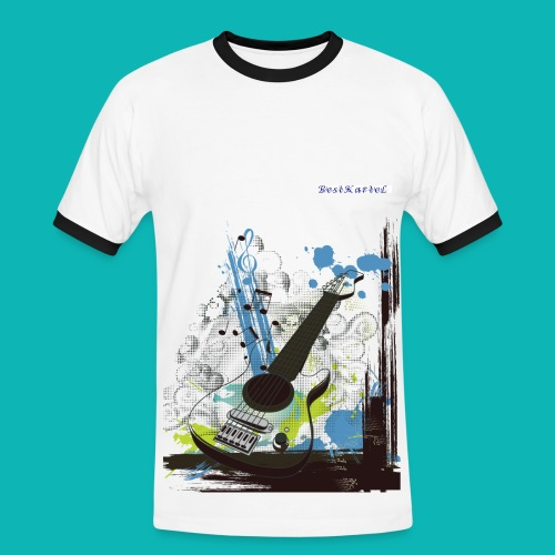Bestkartel Collection - T-shirt contrasté Homme