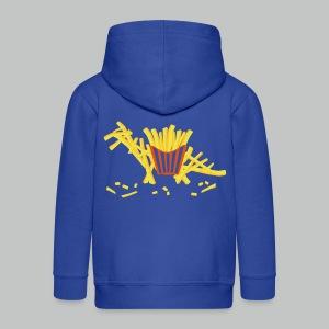 Fritosaurus - Kids' Zip Hoodie - Design in front and back - Kids' Premium Zip Hoodie