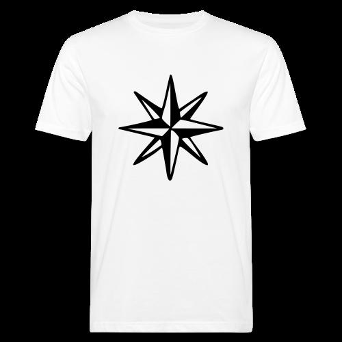 Windrose Bio T-Shirt - Männer Bio-T-Shirt