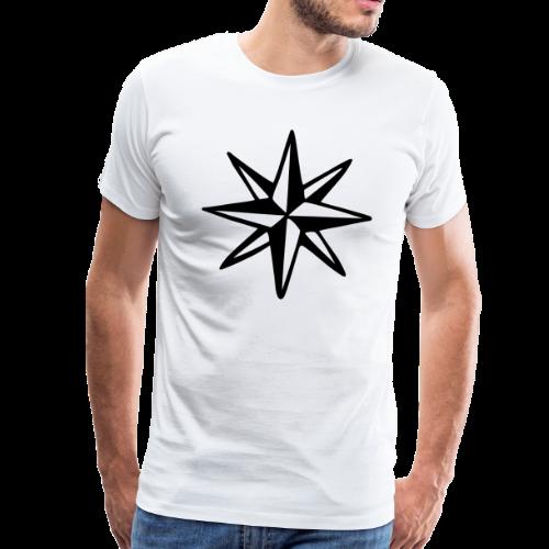 Windrose S-5XL T-Shirt - Männer Premium T-Shirt