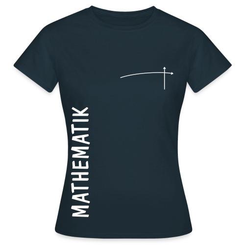 FS Mathe OL Damen Mathematik Schnitt 1 Navy mit Graph - Frauen T-Shirt