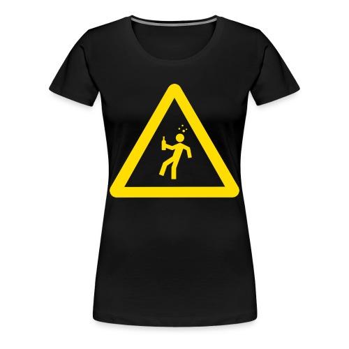 Starkstrom Alkoholiker - Frauen T-Shirt - ohne Schriftzug - Frauen Premium T-Shirt