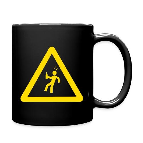 Starkstrom Alkoholiker Tasse - Vorsicht Trinker! - Tasse einfarbig