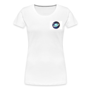Planet T-Shirt - White - Women's Premium T-Shirt