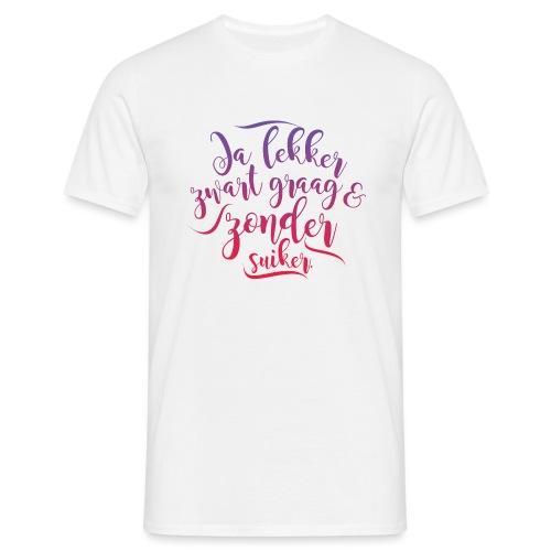 Ja lekker mannen t-shirt - Mannen T-shirt