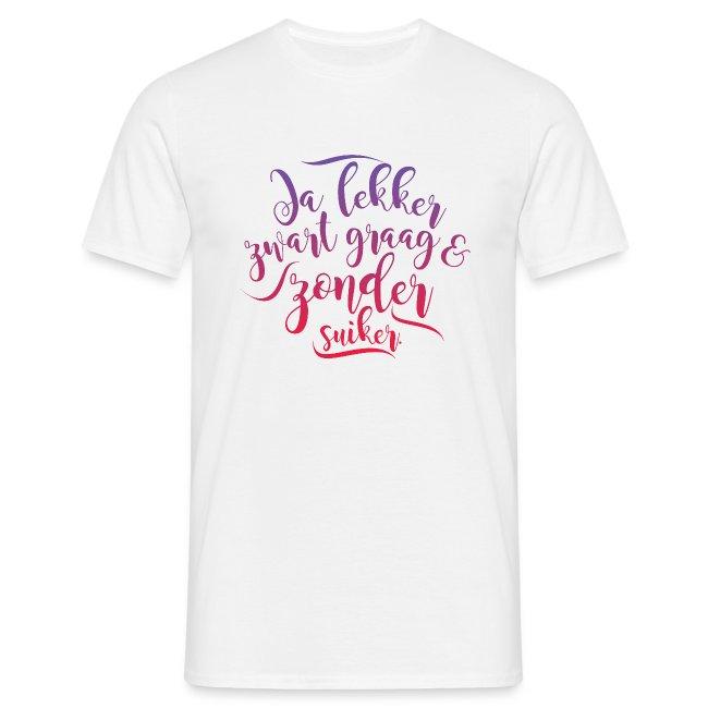 Ja lekker mannen t-shirt