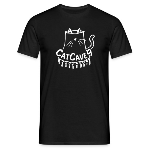 CatCave9 - Classic Black M - Men's T-Shirt