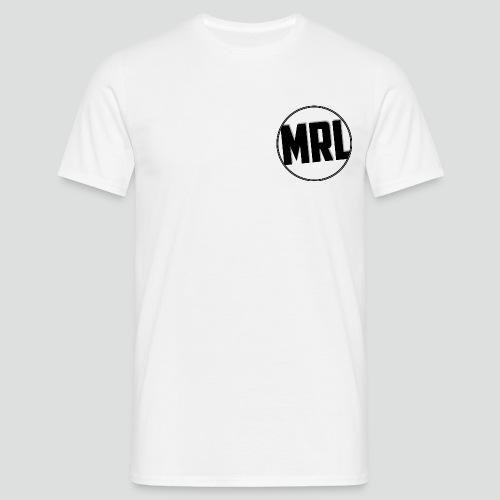Mrlolmopss T-shirt Mannen Klein Logo Zwart - Mannen T-shirt
