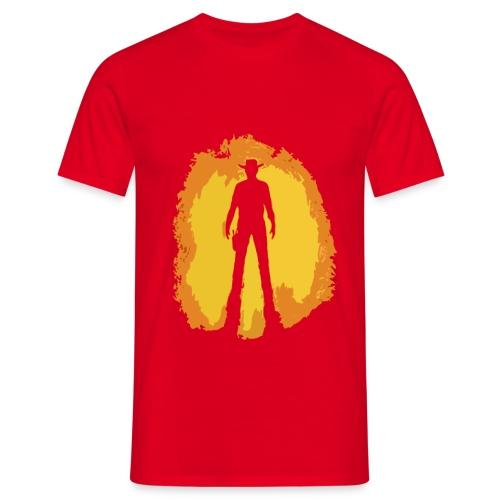 Italowestern Silhouette - Männer T-Shirt