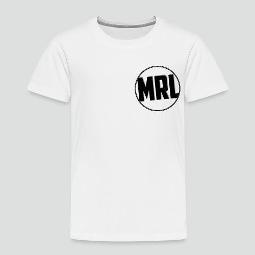 Mrlolmopss T-shirt Kinderen Klein Logo Zwart - Kinderen Premium T-shirt