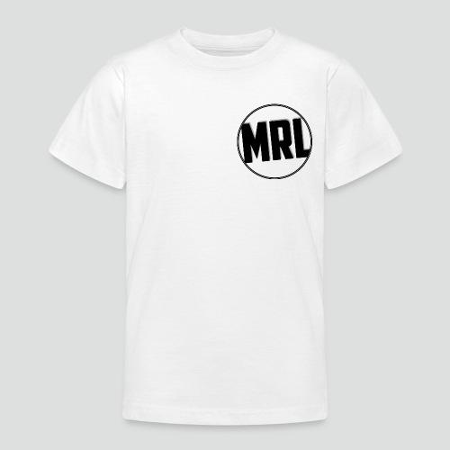 Mrlolmopss T-shirt Tiener Klein Logo Zwart - Teenager T-shirt