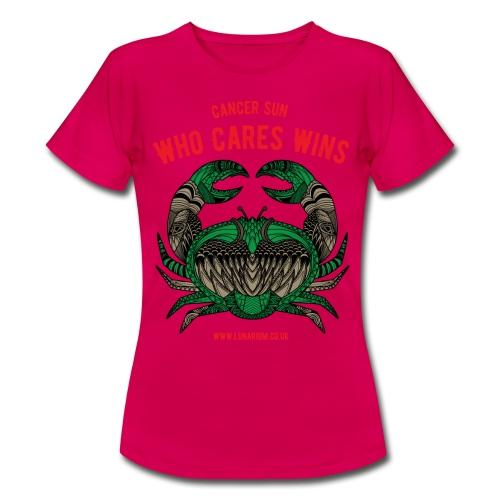 Cancer Sun Sign Women's T-Shirt - Women's T-Shirt