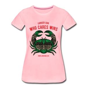 Cancer Sun Sign Women's Premium T-Shirt - Women's Premium T-Shirt