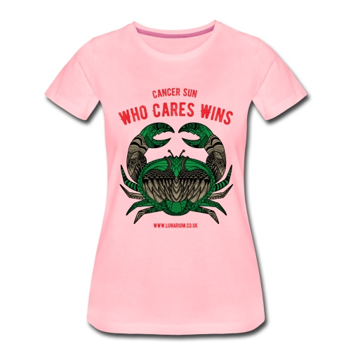 Cancer Sun Sign Women's Premium T-Shirt - Women's Premium T-Shirt