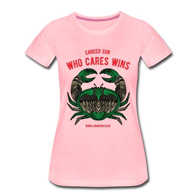 Cancer Sun Sign Women's Premium T-Shirt