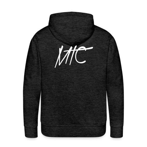 MTC Hoodie (White Print, Men) - Mannen Premium hoodie