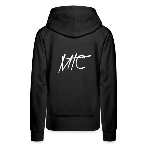 MTC Hoodie (White Print, Women) - Vrouwen Premium hoodie