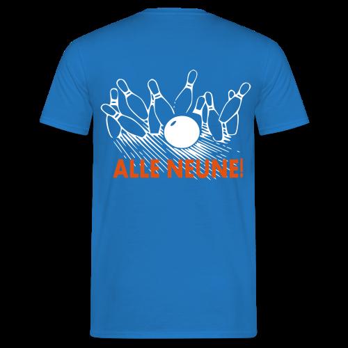 Alle Neune! - Männer T-Shirt