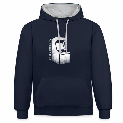 SpielbudenTV Hoddie Gamescom 2016 - Kontrast-Hoodie