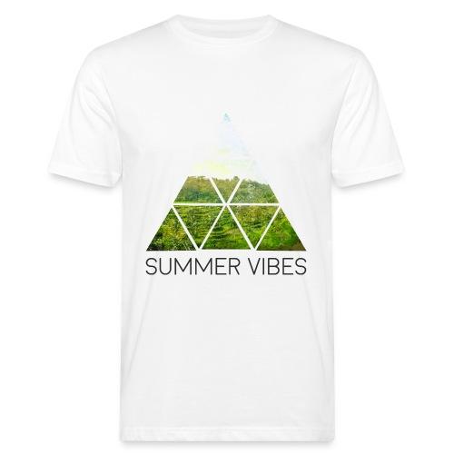 Summer Vibes T-Shirt (Men) - Men's Organic T-Shirt