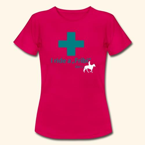 Freiberger Western Red, Girls - Frauen T-Shirt