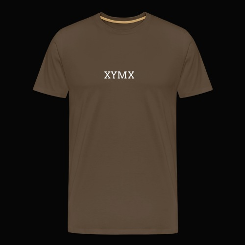 XYMX BROWN TEE - Men's Premium T-Shirt