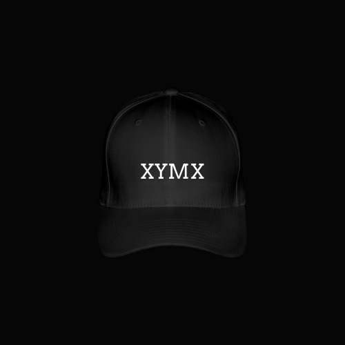 XYMX WHITE SMALL LOGO CAP - Flexfit Baseball Cap