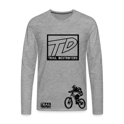 Trail Destroyers - Männer Premium Langarmshirt