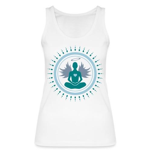 Débardeur bio pour femmes Ange en position de méditation - Women's Organic Tank Top by Stanley & Stella