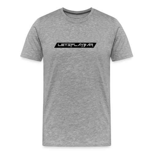 Männershirt Schwarzeslogo - Männer Premium T-Shirt
