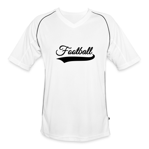 Upper 90 Football/Soccer Shirt (White) - Men's Football Jersey